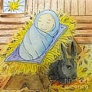Christmas Story Illustration Poster