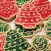 Christmas Sugar Cookies Poster by Garry Gay