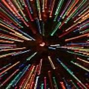 Christmas Tree At Warp Speed II Poster