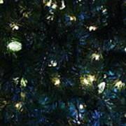 Christmas Tree Lights Poster
