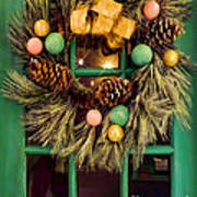 Christmas Wreath Poster