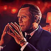 Christopher Walken Painting Poster