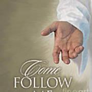Christ's Hand Poster