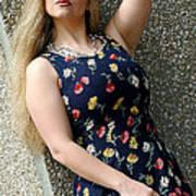 Christy Blue Minidress-40-2 Poster