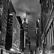 Chrysler Buiilding In Mist Poster