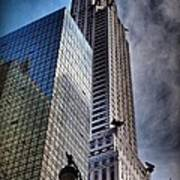 Chrysler Building From Below Poster