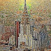 Chrysler Building New York City 20130425 Poster
