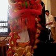 Chua Truc Lam One Man Dragon Poster by Shawn Lyte