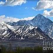 Chugach Mountain Range Poster