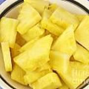 Chunks Of Pineapple Poster