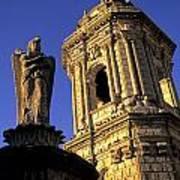 Church Arequipa Peru Poster