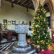 Church At Christmas V7 Poster