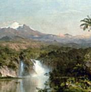 Church: Cotopaxi, 1857 Poster