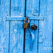 Church Door Blues Poster