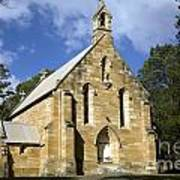 Church In Berrima A Town In Regional New South Wales Australia Poster
