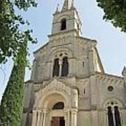 Church In Gordes Poster