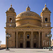 Church In Mgrr, Malta Poster