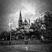 Church In The Rain Poster
