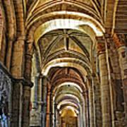 Church Interior Dordogne Region France Poster