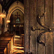 Church Interior Poster