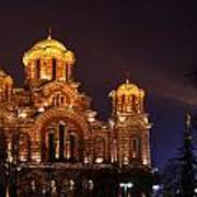 Church Of Sveti Marko Poster