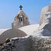 Church On Mykonos Poster