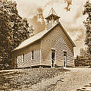 Church On The Hill Poster