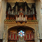 Church Organ Poster