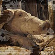 Church Pig Poster