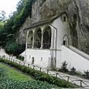 Church Under Cliff Poster
