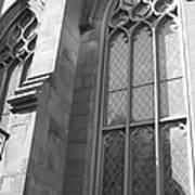 Church Windows And Subway Posts Poster