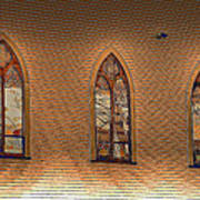 Church Windows Poster