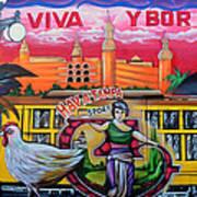 Cigar City Street Mural Poster