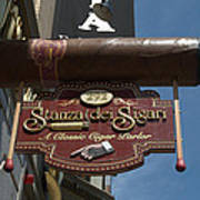 Cigar Parlor Boston Poster