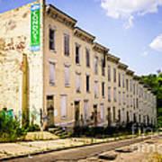 Cincinnati Glencoe-auburn Row Houses Picture Poster by Paul Velgos