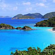 Cinnamon Bay St. John Virgin Islands Poster