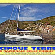 Cinque Terre II Poster