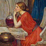 Circe Poster by John William Waterhouse
