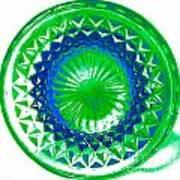 Circle Green Poster