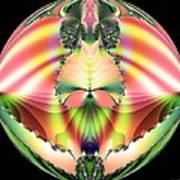 Circle Of Rainbows Poster