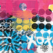 Circus - Contemporary Abstract Art Poster