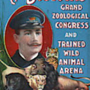 Circus Program, C1901 Poster