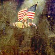 Circus Usa Flag Poster