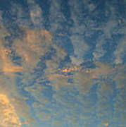 Cirrocumulus Morning Poster