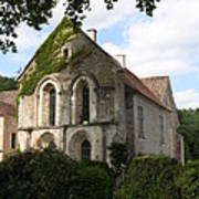 Cistercian Abbey Of Fontenay Poster