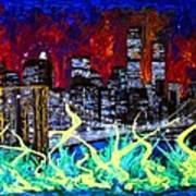 City Escape By Darryl Kravitz Poster