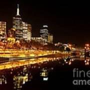 City Glow Poster