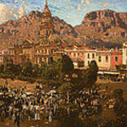 City Hall - Capetown 1917 Poster