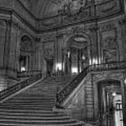 City Hall Grand Stairs Poster