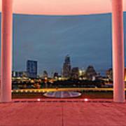City Of Austin Framed Poster